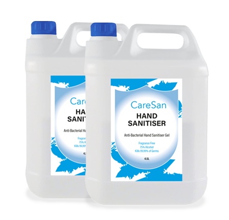 Antibacterial hand sanitiser gel - CareSan